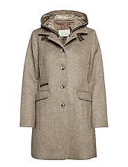 Jacket Wool - TAUPE MELANGE
