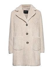 Jacket Plush - LIGHT BEIGE