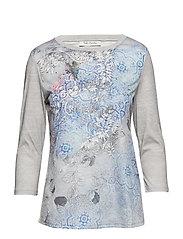 Shirt Short 3/4 Sleeve - GREY/GREY