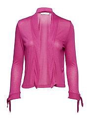 Shirt Jacket Short 3/4 Sleeve - FESTIVAL FUCHSIA