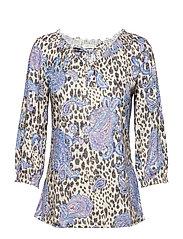 Shirt Short 3/4 Sleeve - VARICOLORED