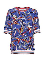 Shirt Short 1/2 Sleeve - BLUE/RED