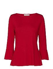 Shirt Short 3/4 Sleeve - CHILI RED
