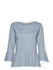 Shirt Short 3/4 Sleeve - DUSTY BLUE