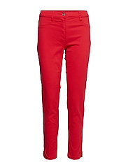 Pants Casual 1/1 Length - HIBISCUS RED