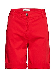 trousers - HIBISCUS RED