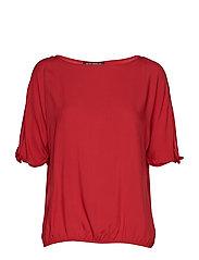 Blouse Short 1/2 Sleeve - RED SCARLET