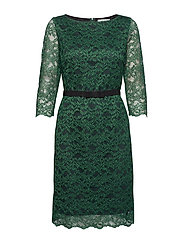 dress - DARK FIR GREEN