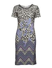 Dress Short 1/2 sleeve - VARICOLORED