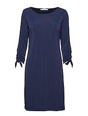 Dress Short 3/4 sleeve - DARK SKY