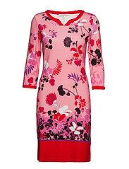 dress - ROSè/ RED