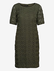 Dress Short 1/2 sleeve - DUSTY OLIVE