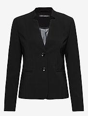 Betty Barclay - Blazer Short Single Breasted 1 - figursydda kavajer - black - 0