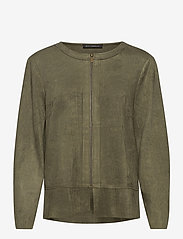 Betty Barclay - Blazer Jacket Short 1/1 Sleeve - colberts - dusty olive - 0