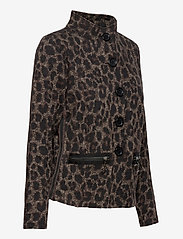 Betty Barclay - Blazer Jacket Short 1/1 Sleeve - colberts - black/taupe - 3