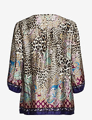 Betty Barclay - Blouse Long 3/4 Sleeve - blouses à manches longues - taupe/black - 1
