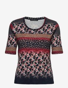 Shirt Short 1/2 Sleeve - t-shirts - brown/red