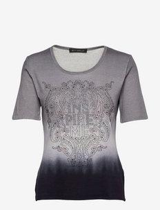 Shirt Short 1/2 Sleeve - t-shirts - grey/dark blue