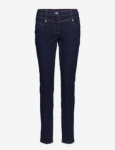 trousers - DEEP BLUE DENIM