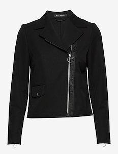 Blazer Jacket Short 1/1 Sleeve - blazere - black