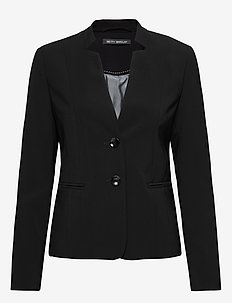 Blazer Short Single Breasted 1 - getailleerde blazers - black