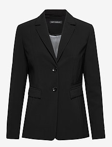 Blazer Long Single Breasted 1/ - getailleerde blazers - black