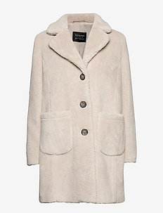 Jacket Plush - LIGHT BEIGE