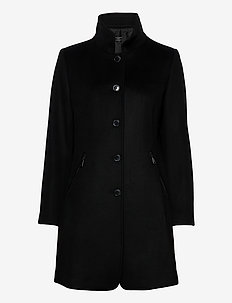 Jacket Wool - wool jackets - black