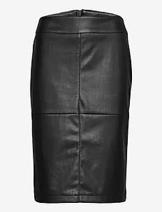 Skirt Medium Length Classic - midi skjørt - black