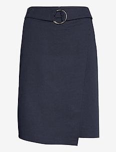 Skirt Medium Length Classic - omslagsskjørt - dark sky