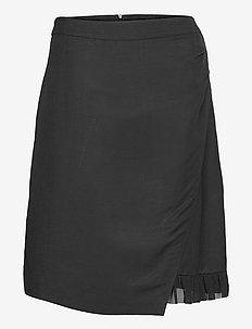 Skirt Medium Length Classic - omlottkjolar - black