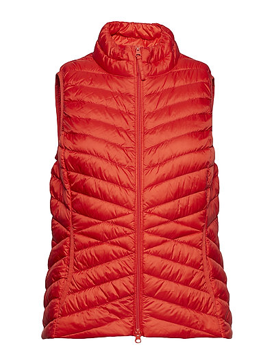Vest Down - HIBISCUS RED