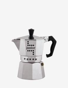 Coffee Maker JUNIOR Bialetti® - stempelkander & mokkakander - siilver