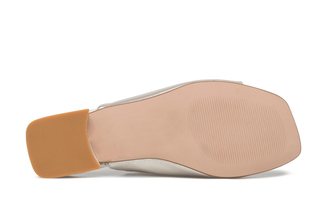 Bianco Dress Cuir 100 Synthetic Doublure Empeigne Mule silver Intérieure Flat Jfm18 Extérieure Semelle 91 5rT5qw