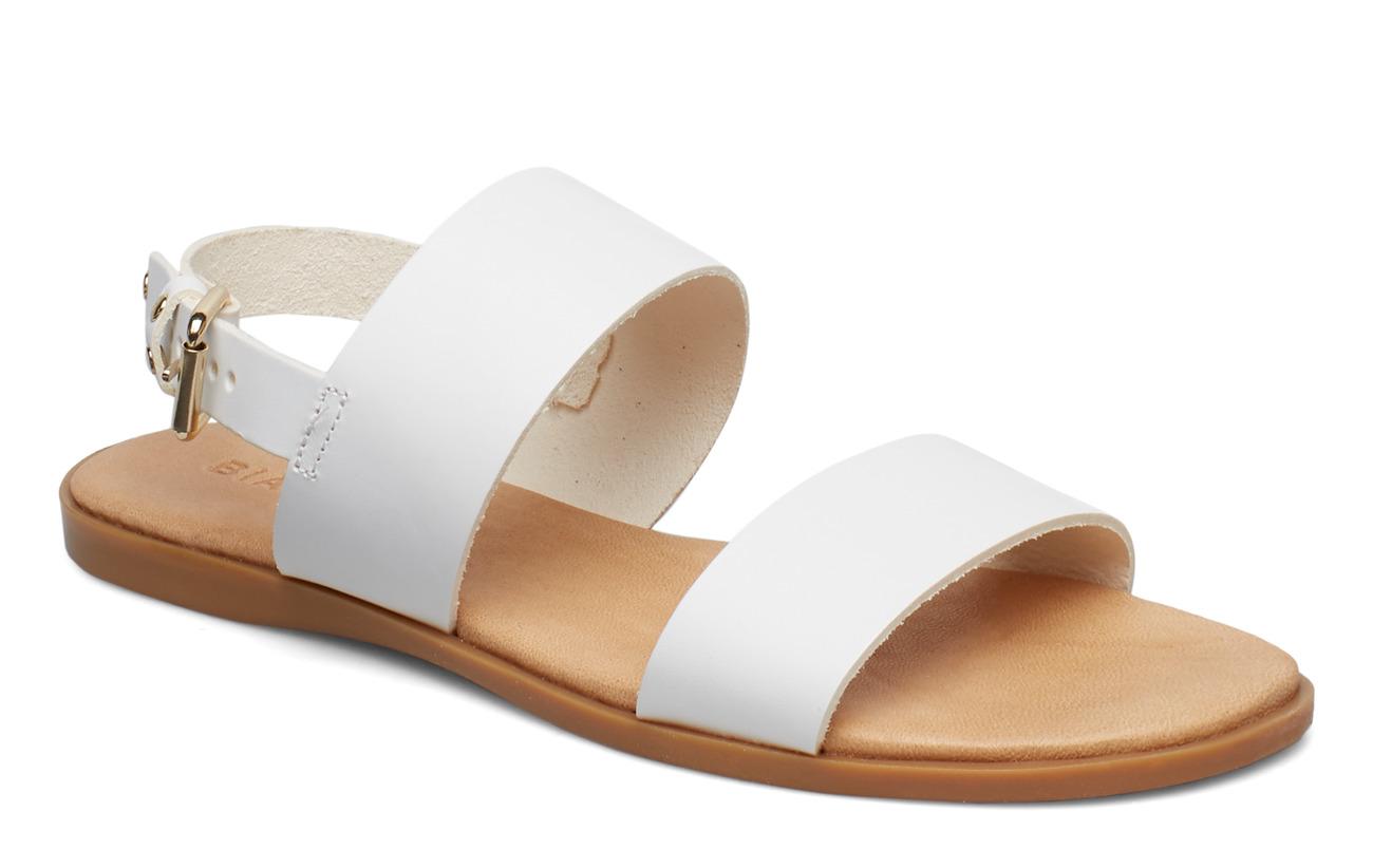 Bianco BIABROOKE Basic Leather Sandal - WHITE