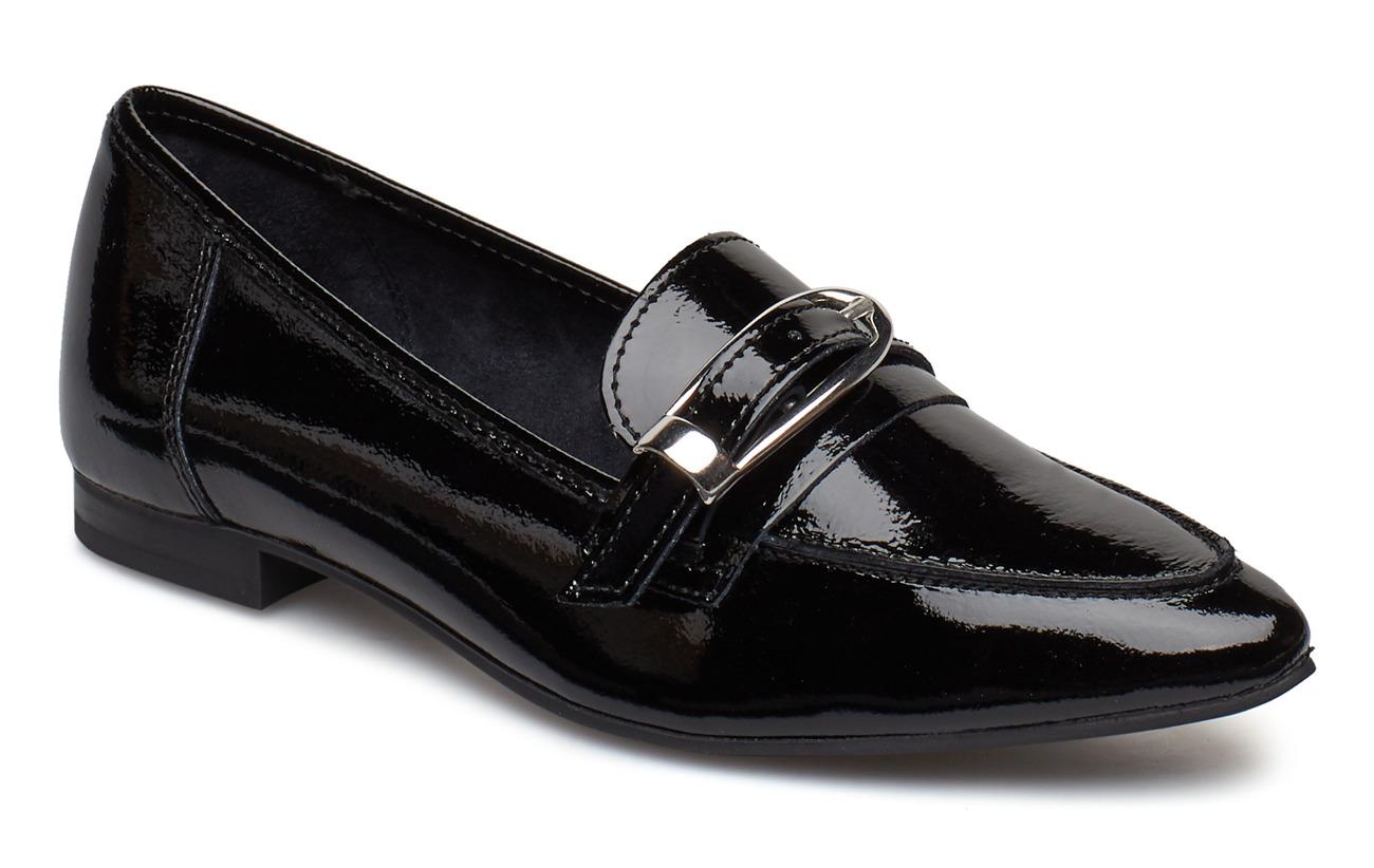Bianco BIAALIAL Leather Buckle Loafer - BLACK 3