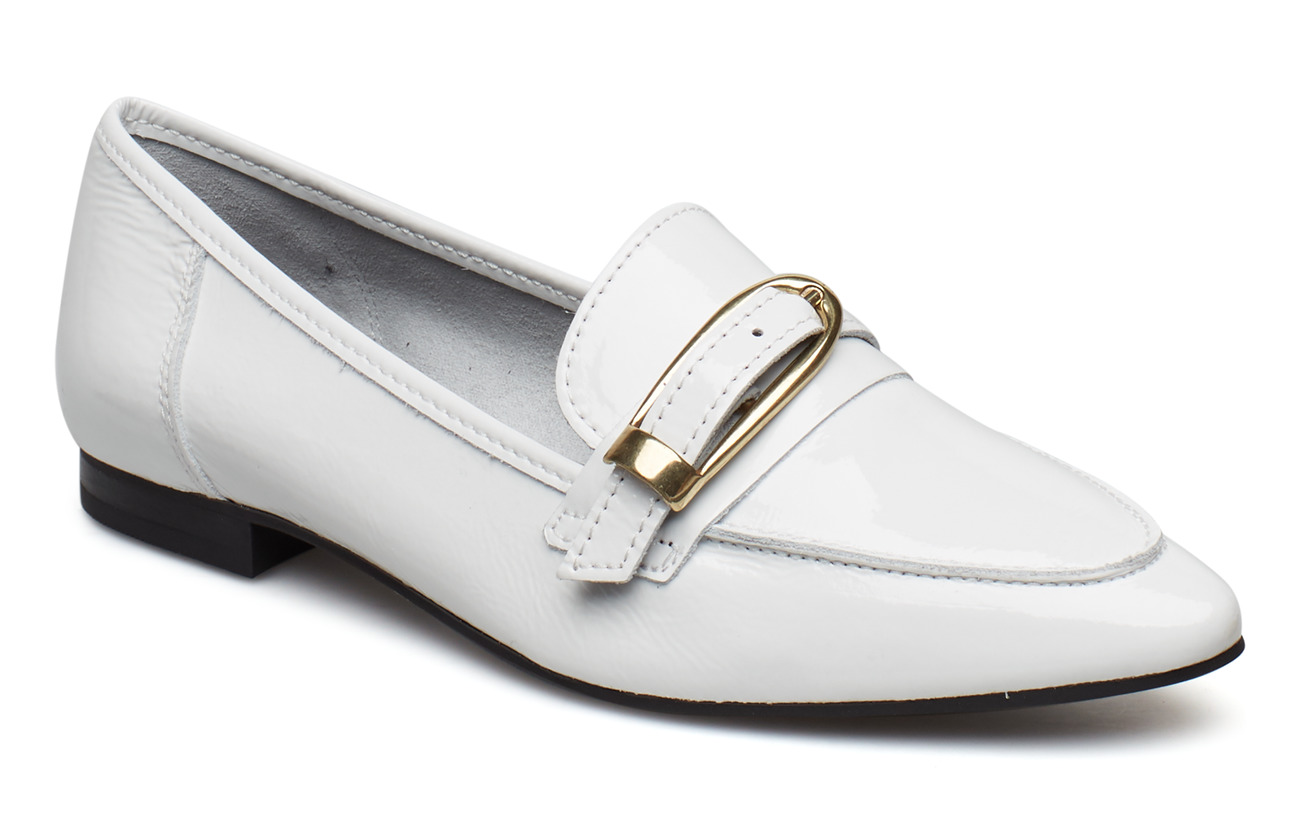 Bianco BIAALIAL Leather Buckle Loafer - WHITE 3