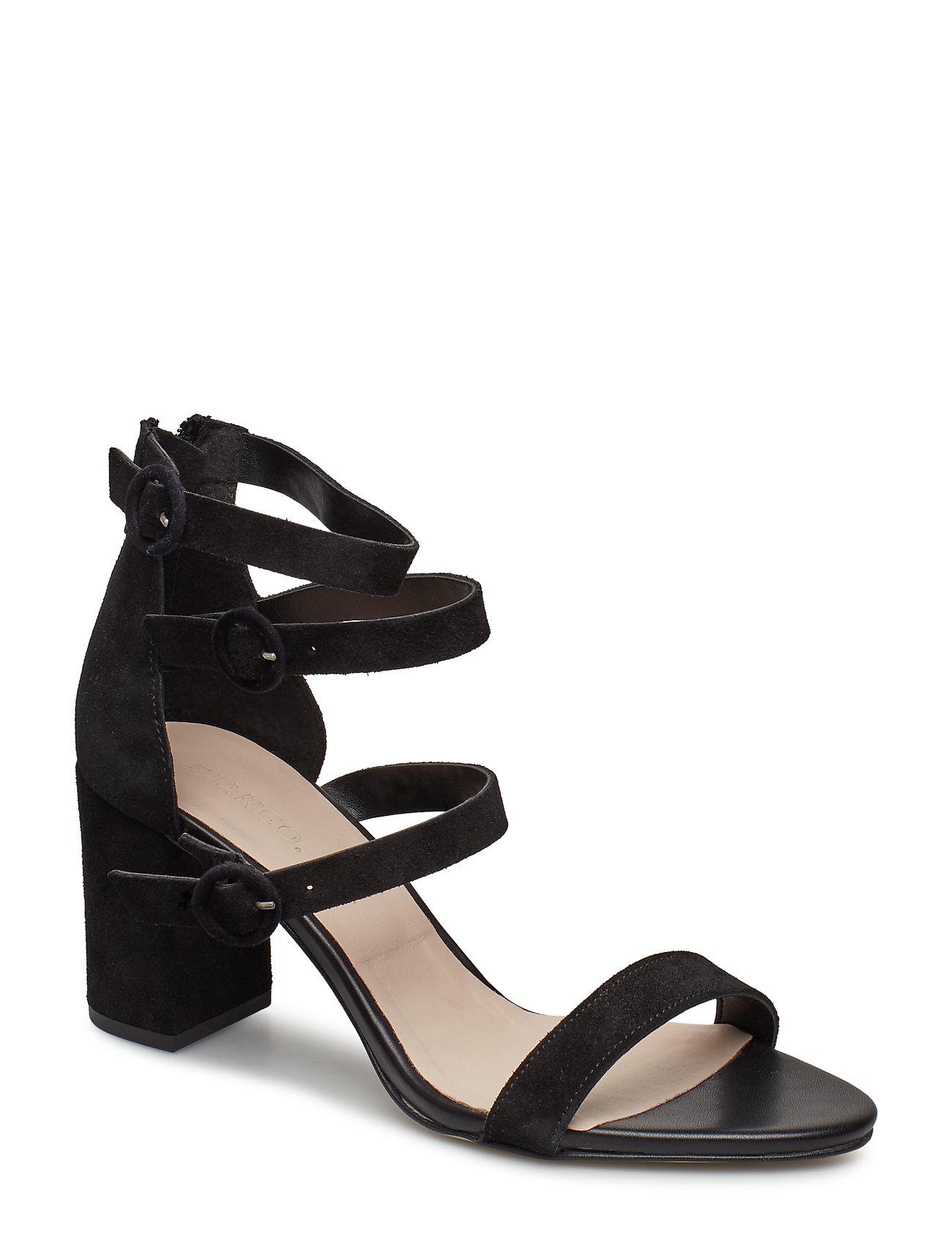 Bianco Multi Strap Sandal - BLACK 1