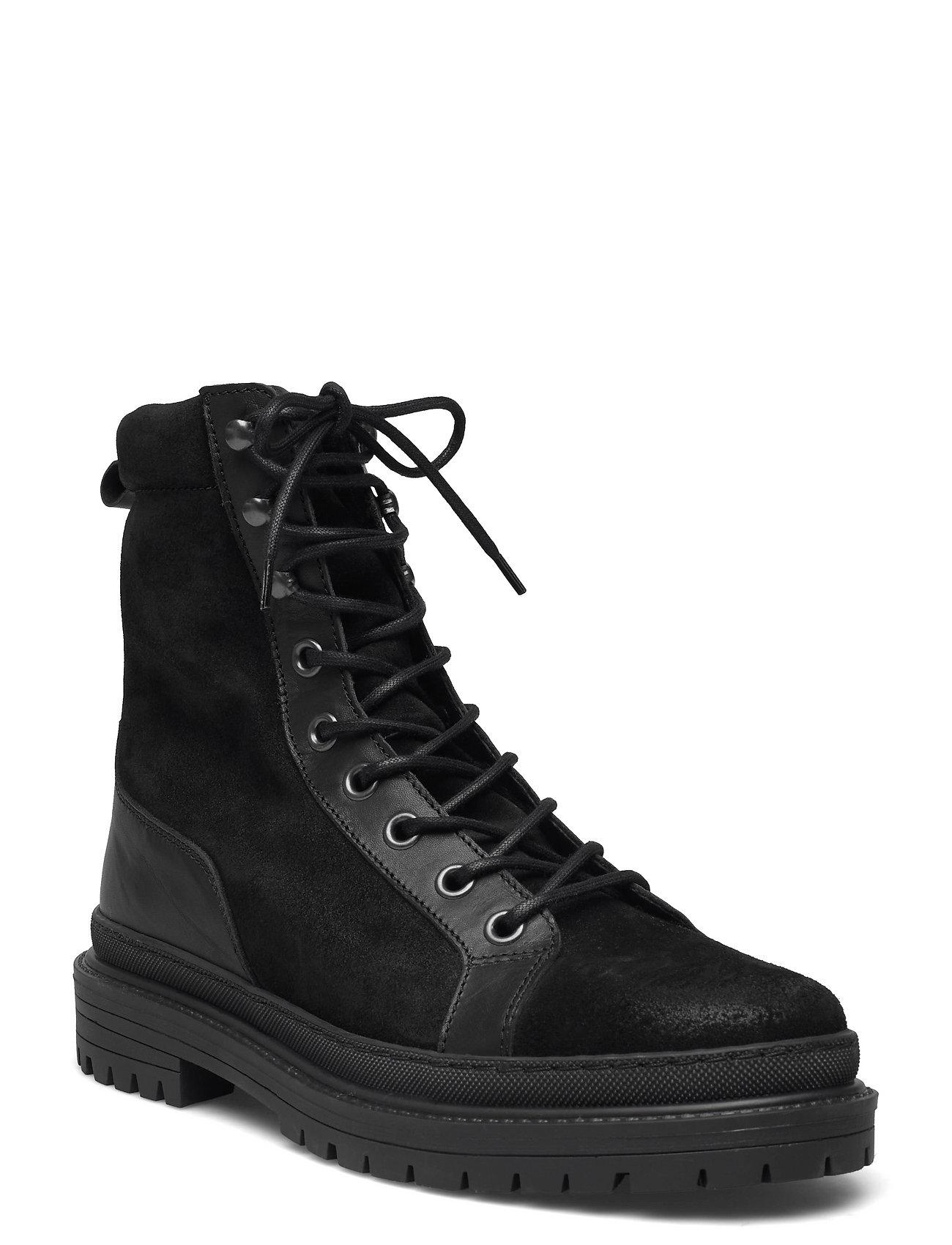 Biadaxx Boot Snørestøvler Sort Bianco