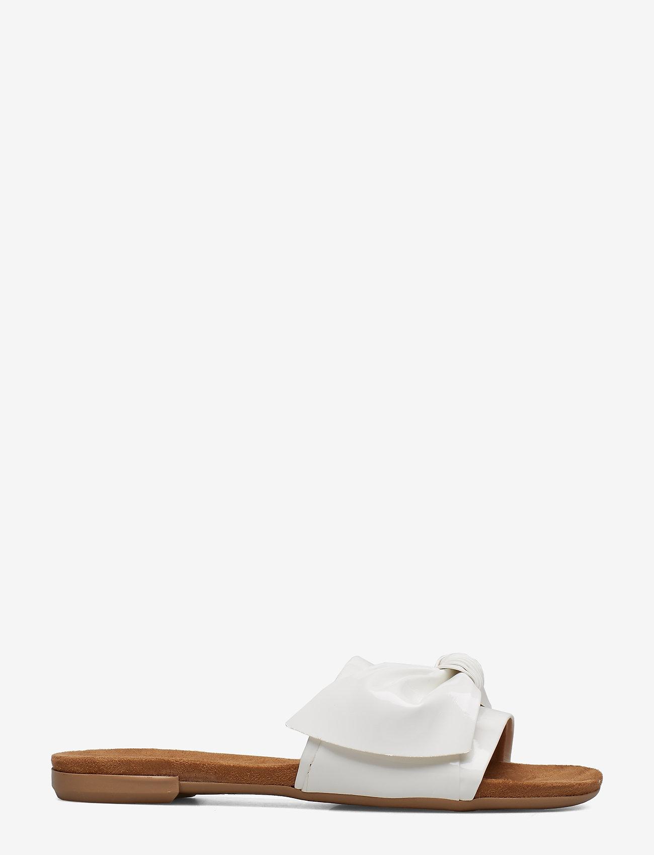 Bianco - BIABONNIE Assym. Bow Slide - sandales - white 3 - 1