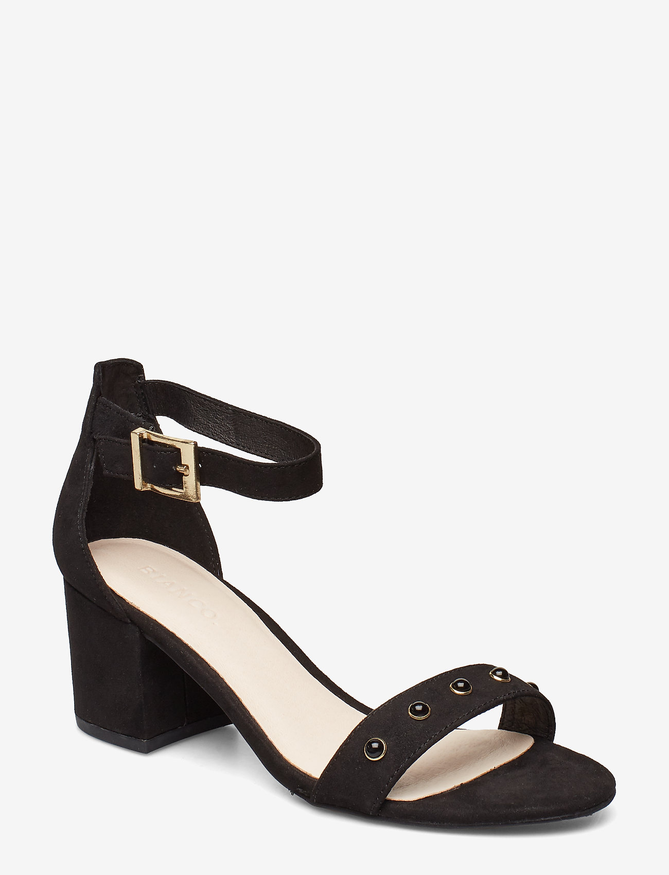 Bianco - BIABELLE Pearl Sandal - heeled sandals - black 1