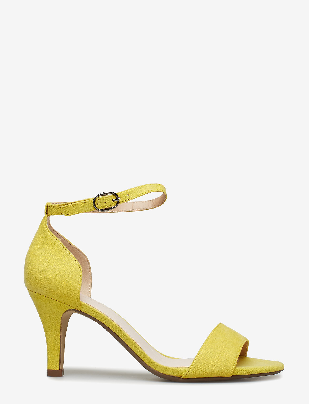 Bianco - BIAADORE Basic Sandal - sandales à talons - yellow 1 - 1