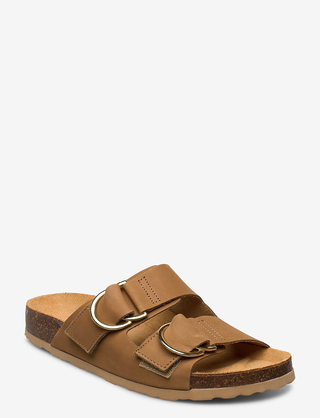 Bianco - BIABETRICIA Leather Sandal - sandales - light brown 2 - 0