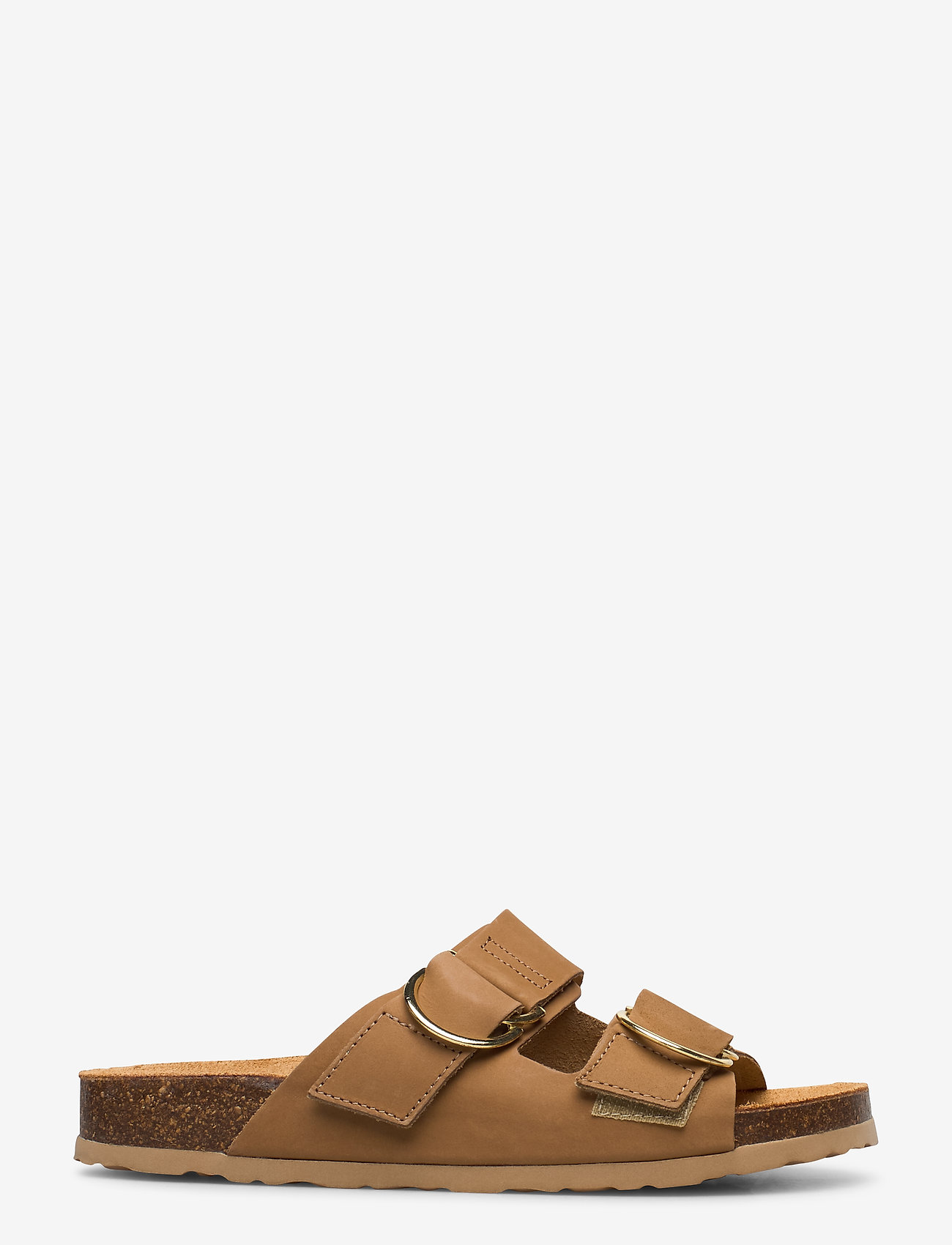 Bianco - BIABETRICIA Leather Sandal - sandales - light brown 2 - 1