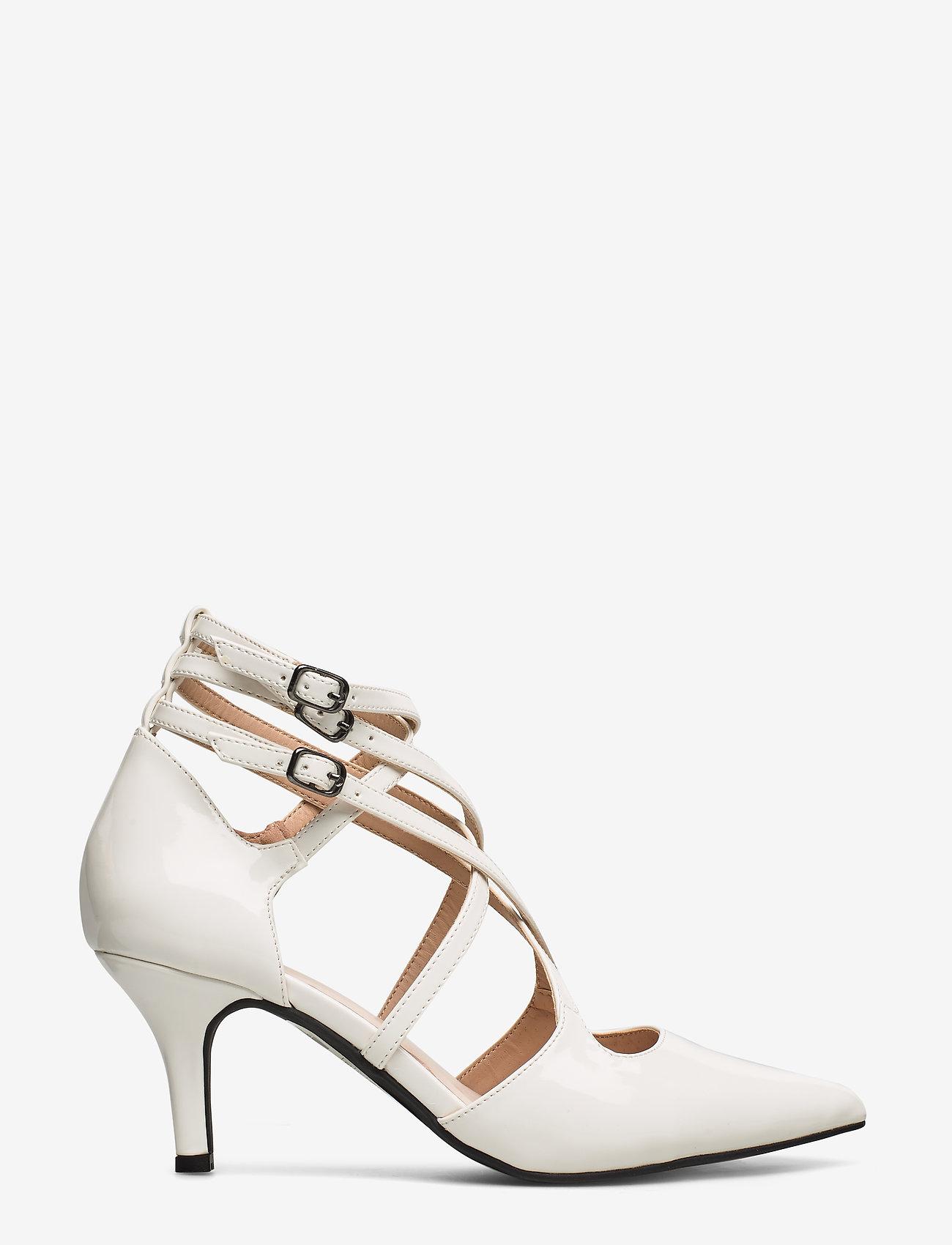 Bianco - BIAADINA Thin Strap Pump - klassiske pumps - white 3