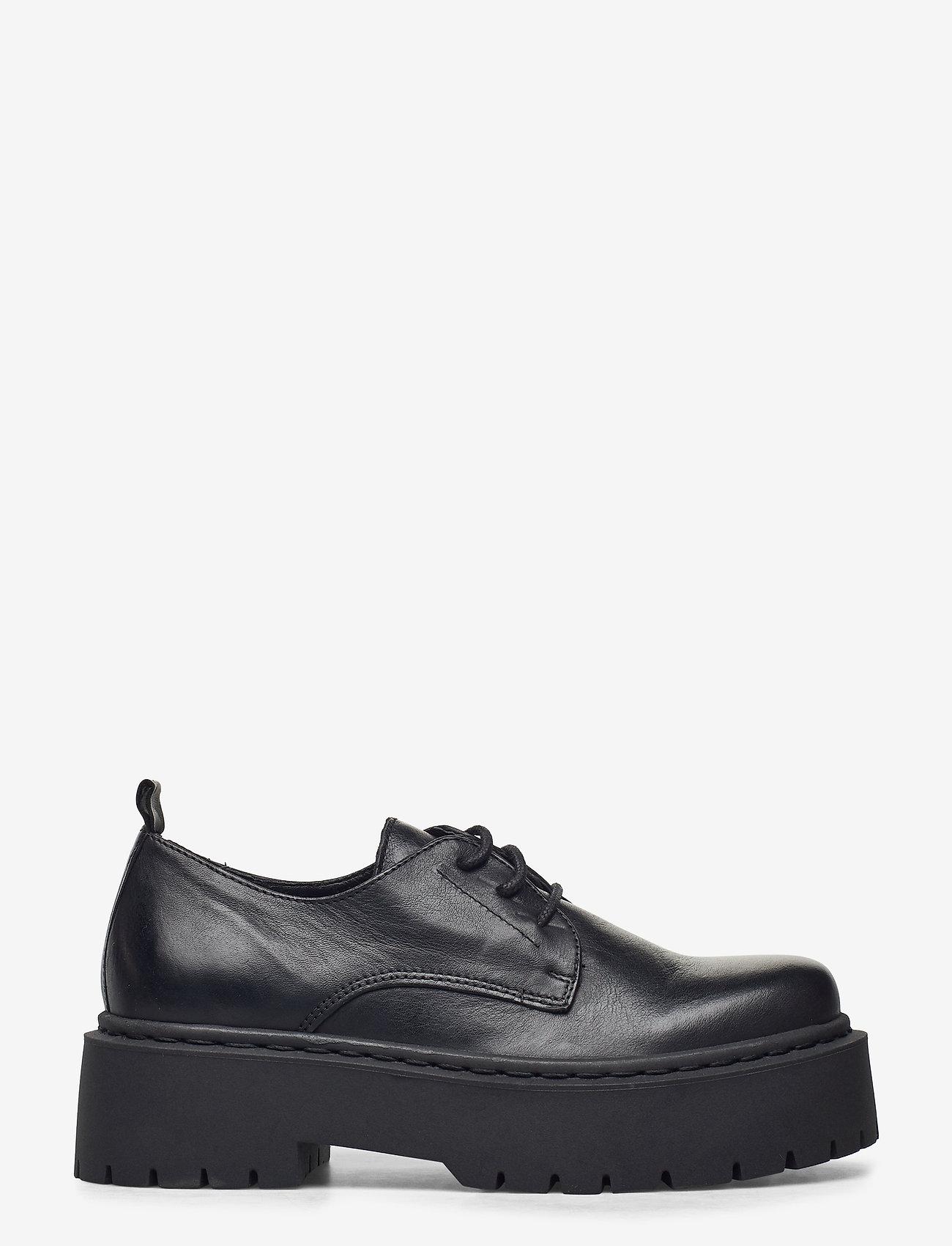 Bianco - BIADEB Laced Shoe - snörskor - black - 1