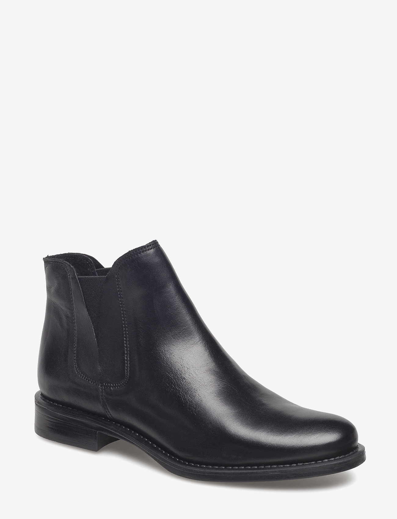 Bianco - V-Split Boot - platte enkellaarsjes - black - 0