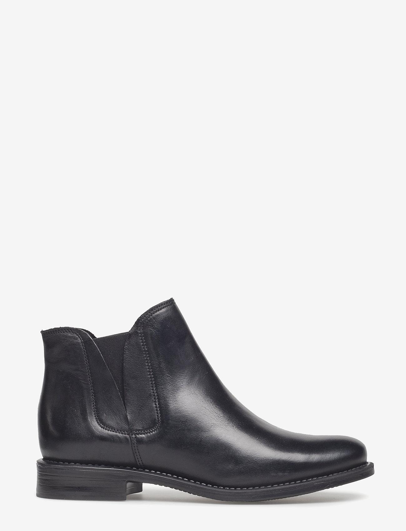 Bianco - V-Split Boot - platte enkellaarsjes - black - 1
