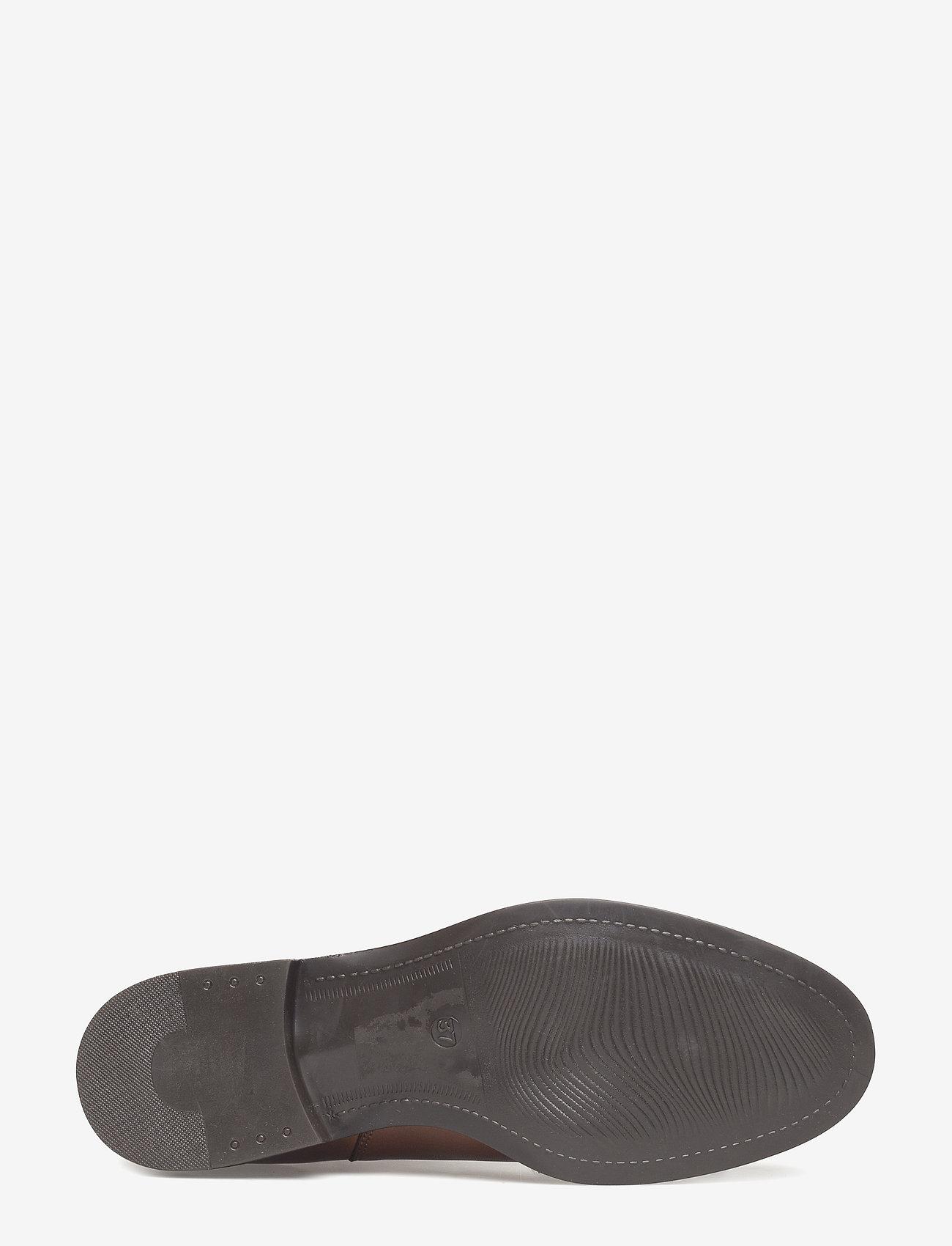 V-split Boot (Cognac) - Bianco