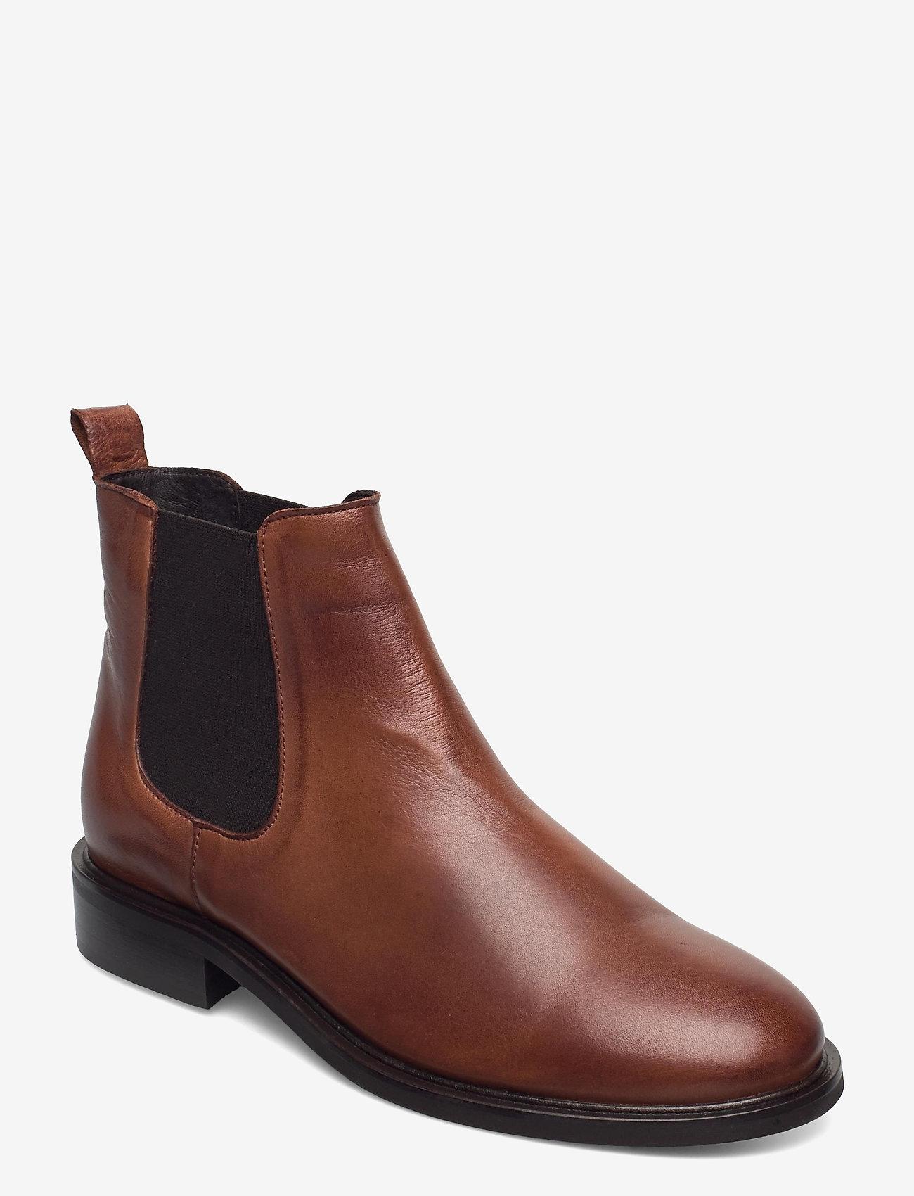 Bianco - BIAJESSICA Classic Chelsea - chelsea boots - cognac - 0